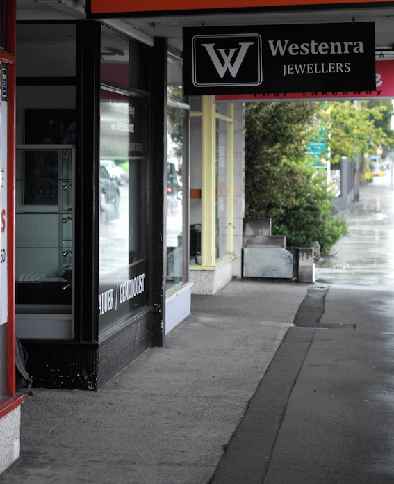 Westenra Jewellers Store Front