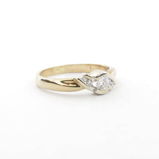 9ct Gold Diamond Ring