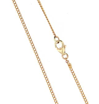 9ct yellow gold extra long chain