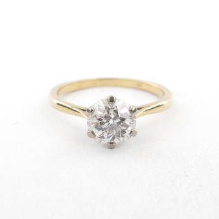 1.48ct Diamond Solitaire Ring