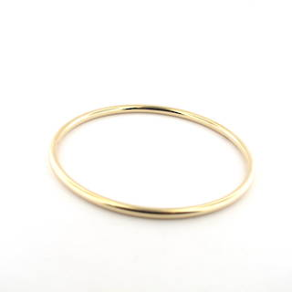 9ct yellow gold bangle
