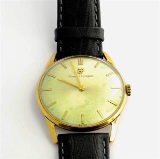 Men's 9ct yellow gold Girard Perregaux watch