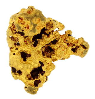 Natural gold Western Australian nugget