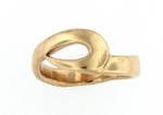 9ct gold unisex ring