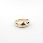 Lady's 9ct bi-tone dress ring