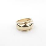 9ct yellow gold Lady's band style ring