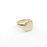 9ct yellow gold Gent's signet ring