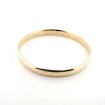 9ct yellow gold one troy ounce bangle