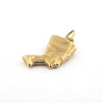 9ct yellow gold Egyptian woman charm