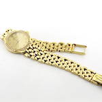 Omega DeVille 18ct yellow gold diamond set watch