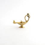 9ct yellow gold aladdin lamp charm