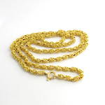 22ct yellow gold fancy link chain