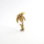 9ct yellow gold coconut tree charm