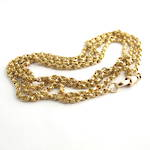 9ct yellow gold antique chain