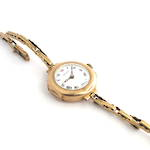 Women's Baume watch with 9ct yellow gold case and bracelet