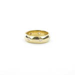 18ct yellow gold diamond set eternity ring