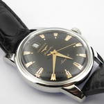 Gent's stainless steel automatic 'Longines' watch