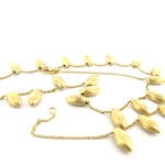 18ct textured yellow gold 'Marco Bicego' necklace